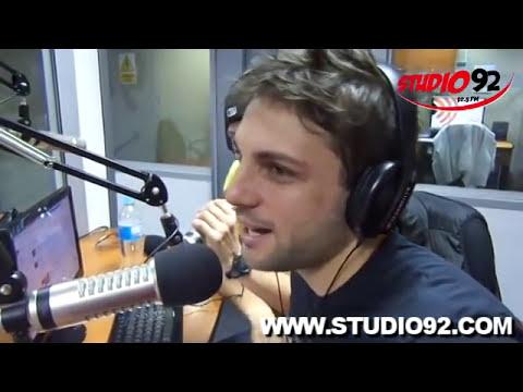 Yaco, Nicola y Gino de Esto Es Guerra en Santa Pecadora con Leslie Show