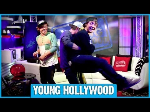 Name Emblem3's Touchdown Dance & Win Their Signed Young Hollywood Hat!