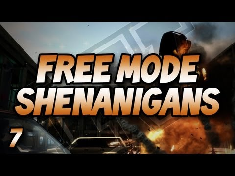 GTA IV Free Mode Shenanigans: w/ Gassy, Nanners, Goldy, Diction, & Chilled #7