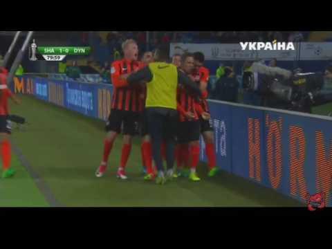 Шахтер Динамо 1:0 гол Марлос 17.05.17
