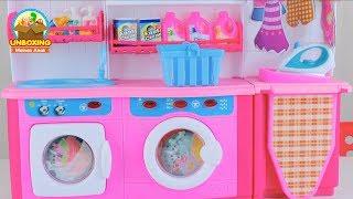 Mainan Anak Mesin Cuci dan Setrikaan - Mainan Anak Berfaedah