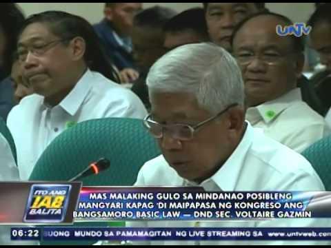 Mas malaking gulo sa Mindanao, pag di maipapasa ang Bangsamoro Basic Law — DND Sec