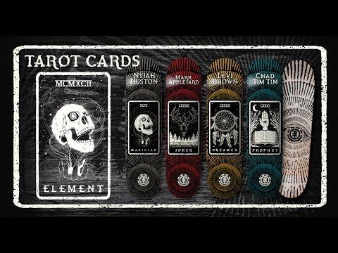 Element Skateboards: Nyjah Huston Tarot Card Series