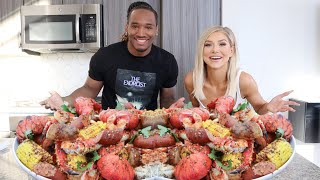 COOKING WITH CHARLES AND ALYSSA | HOW TO MAKE A SEAFOOD BOIL