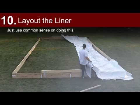 Building a Backyard Ice Rink - Iron Sleek Style