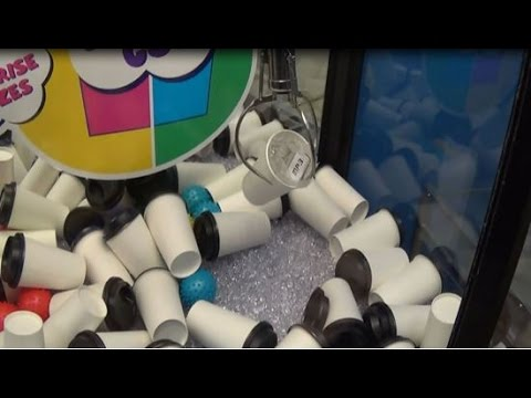Claw Machine Adventures: Mystery Cup Wins! + Trying For The Mp3 Player!