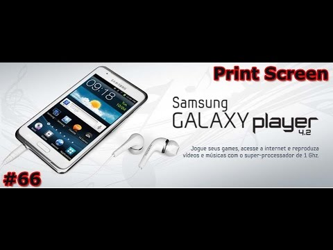 Samsung Galaxy Player 4.2 - Review - Screen Capture - Screenshot - PT-BR - Brasil