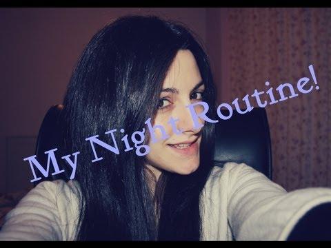My night routine ( Πως καθαριζω το προσωπο μου )