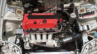 K20 Swapped Honda EG Civic. Kswap Very Quick Car. Mapped with Hondata