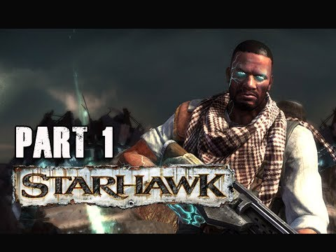 Starhawk Walkthrough - Part 1 [Chapter 1] Homecoming PS3 (Gameplay & Commentary)