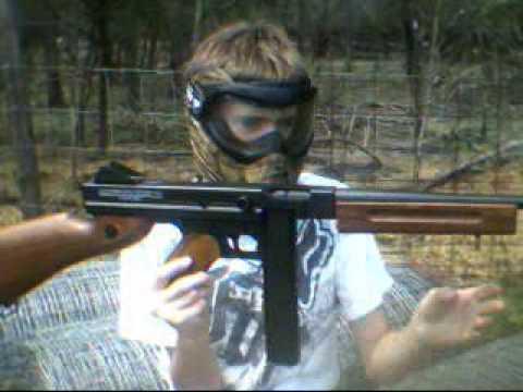Cybergun Thompson M1a1 Drum Mag Airsoft Cybergun M1a1 Thompson
