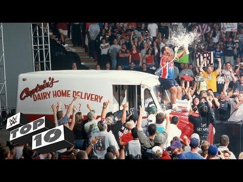 Kurt Angle's funniest moments - WWE Top 10