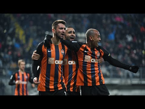 Zorya 3-4 Shakhtar. Highlights (25/10/2017)