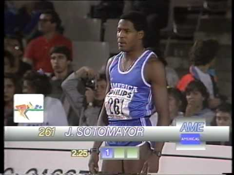 HIGH JUMP-PATRICK SJOBERG VS JAVIER SOTOMAYOR IN 1989_6-13