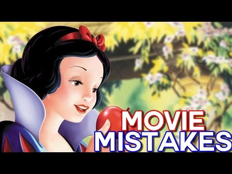 Snow White and the Seven Dwarfs Movie Mistakes, Fails, Bloopers and Spoilers
