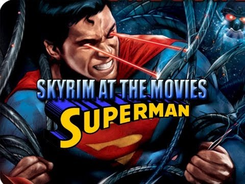 Skyrim At The Movies: Superman (Man Of Steel) Trailer
