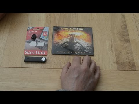 Ripping CD's to USB flash drive for car