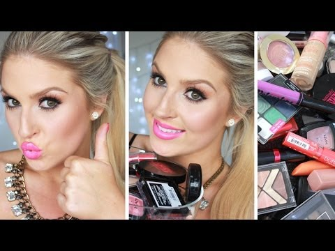 Drugstore Favorites & Swatches! ♡ The Best Affordable & Cheap Makeup Products!