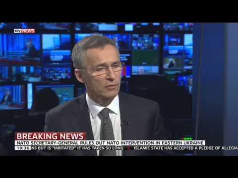 NATO Secretary General On Ukraine, Russia, Afghanistan & Islamic State