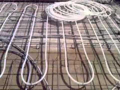 Separacion tubos suelo radiante