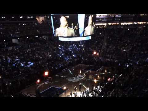 Orlando Magic 2014-2015 Player Introductions and 3D Graphics