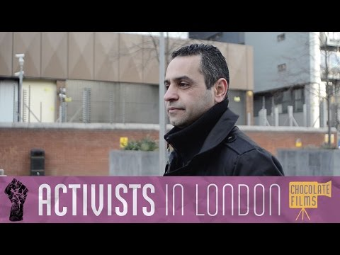 Riyad, the Iraqi-born writer who came to London in search of freedom, Londoner #80