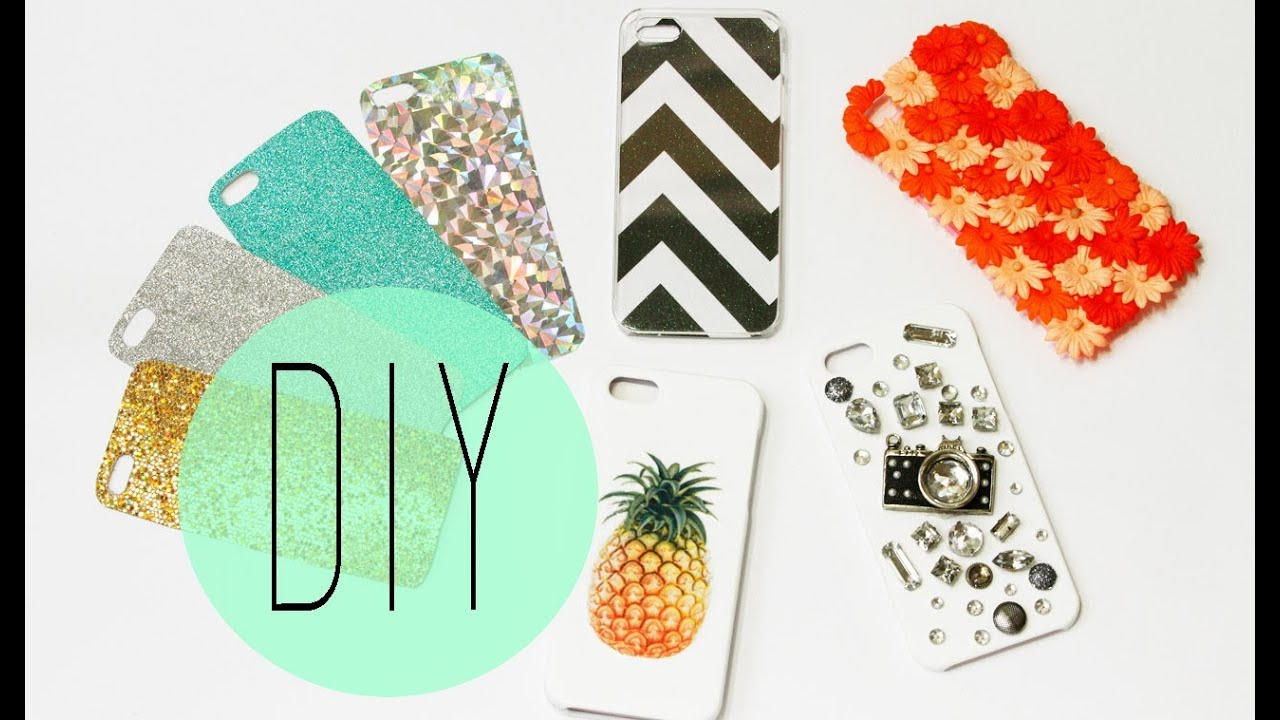 Diy cell phone case how to make cute iphone 5s designs for Cell phone cover design ideas