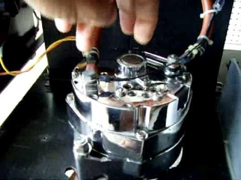 Homemade Inverter Generator - Alternator Modification