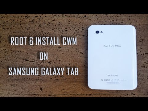 How to ROOT and install CWM on GTP-1000 samsung galaxy tab