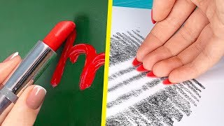 10 Fun and Useful DIY School Supply Ideas and School Hacks