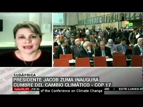 President Jacob Zuma inaugurated COP-17