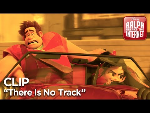 "Ralph Breaks the Internet | ""There Is No Track"" Clip"