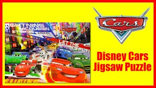 Disney Cars Jigsaw Puzzle Featuring Lightning McQueen