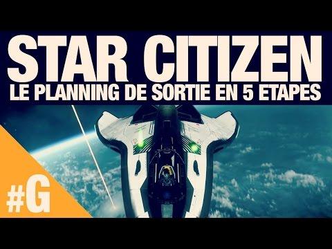 Star Citizen : planning de sortie en 5 étapes
