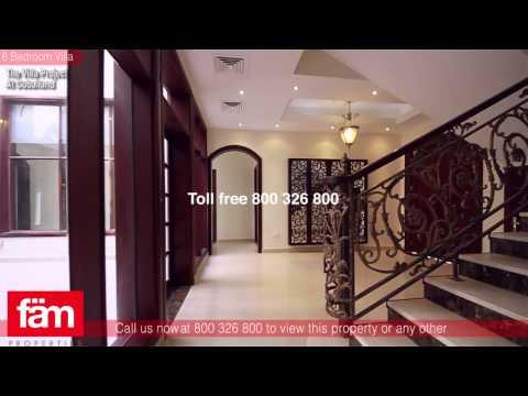 Dubai Villas   6 BR Custom Villa, Vacant and Brand New
