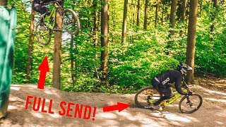 DOWNHILL MOUNTAINBIKE BIKEPARK CHALLENGES!