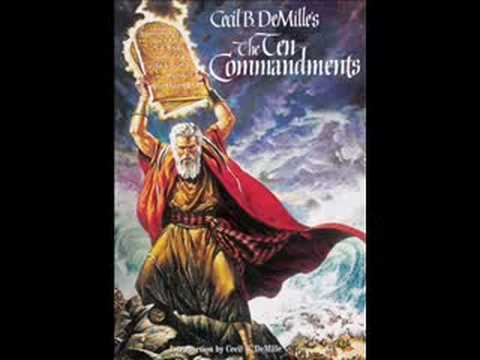 The Ten Commandments Soundtrack (1956) (elmer Bernstein) video