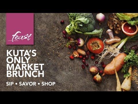 Feast Market Brunch – Sip, Savor and Shop at Sheraton Bali Kuta Resort's