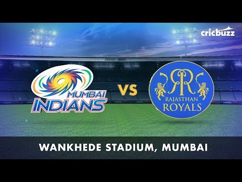 Cricbuzz LIVE: MI vs RR Pre-match show