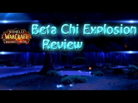 [Warlords of Draenor Beta] WindWalker Chi Explosion Review