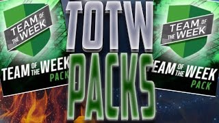 Madden Mobile 17 Team of The Week Pack Opening! 3 TOTW Packs!
