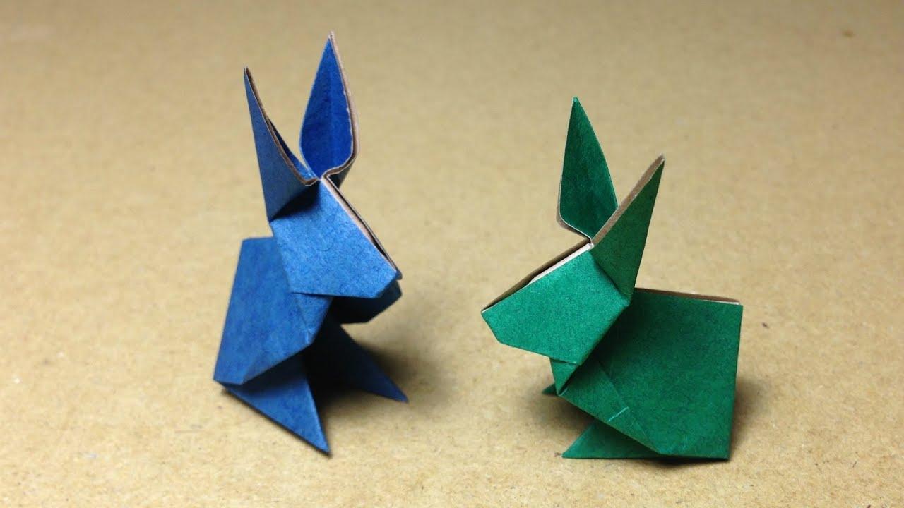 すべての折り紙 お正月 折り紙 折り方 : How to Make Origami Rabbit