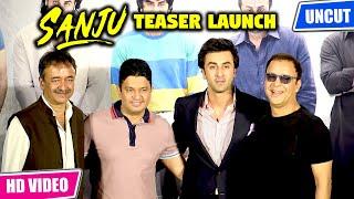 Uncut Sanju Teaser Launch | Sanju | Official Teaser | Ranbir Kapoor | Rajkumar Hirani