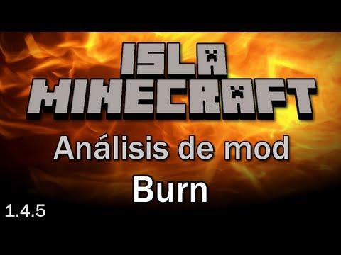 Minecraft Mods: [1.4.5] Burn + Texturas HD (32x32) (Español)