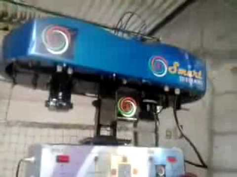 Pace Sharp Plus Automatic Cricket Bowling Machine video
