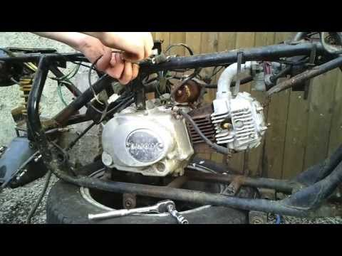 How to disassemble 110cc Chinese Quad ATV