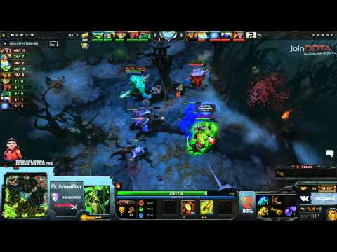 Na'Vi vs Power Rangers Game 2   Dota 2 Champions League EU Final @TobiWanDOTA