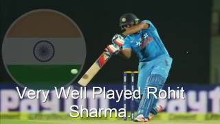 India v South Africa, 1st T20 Match, Rohit Sharma 106 Runs, Oct 2, 2015