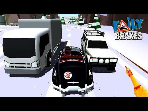 МАШИНКИ Faily Brakes #60 прохождение ИГРЫ  МОНСТР ТРАКИ тачки VIDEO FOR KIDS как мультик car games