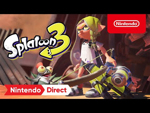 Splatoon 3 - Announcement Trailer - Nintendo Switch